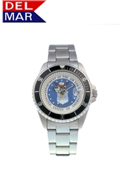 Air Force Stainless Steel Watch