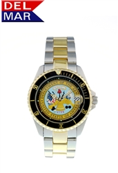 Army Men's Two Tone Case Watch
