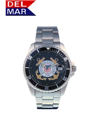 Coast Guard Men's Stainless Steel Watch
