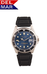 Men's Sportstrap Blue Dial Watch