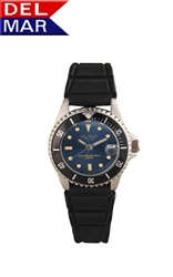 Ladies Sportstrap Blue Dial Watch